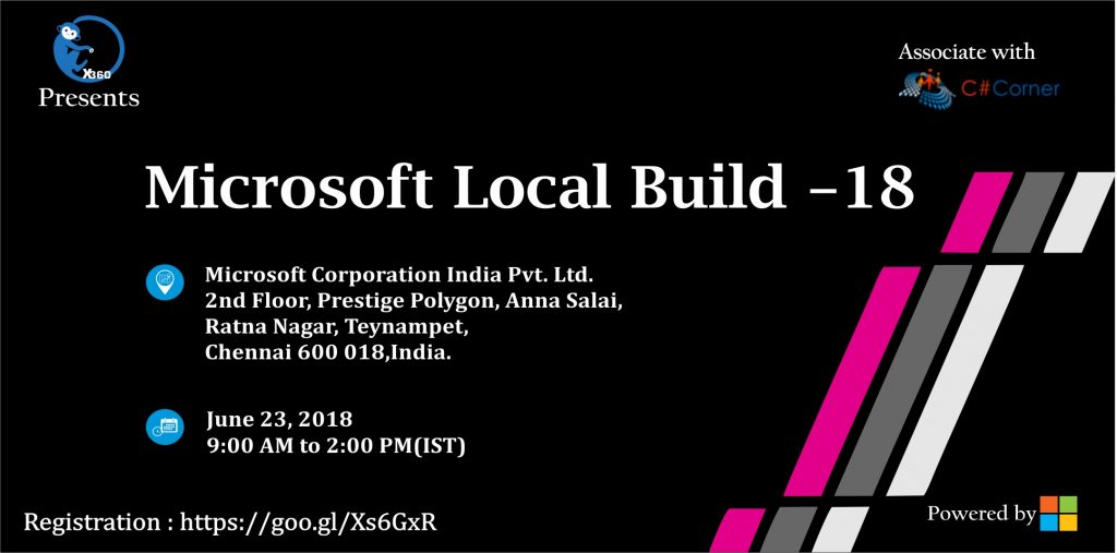Microsoft Local Build 2018 at Chennai