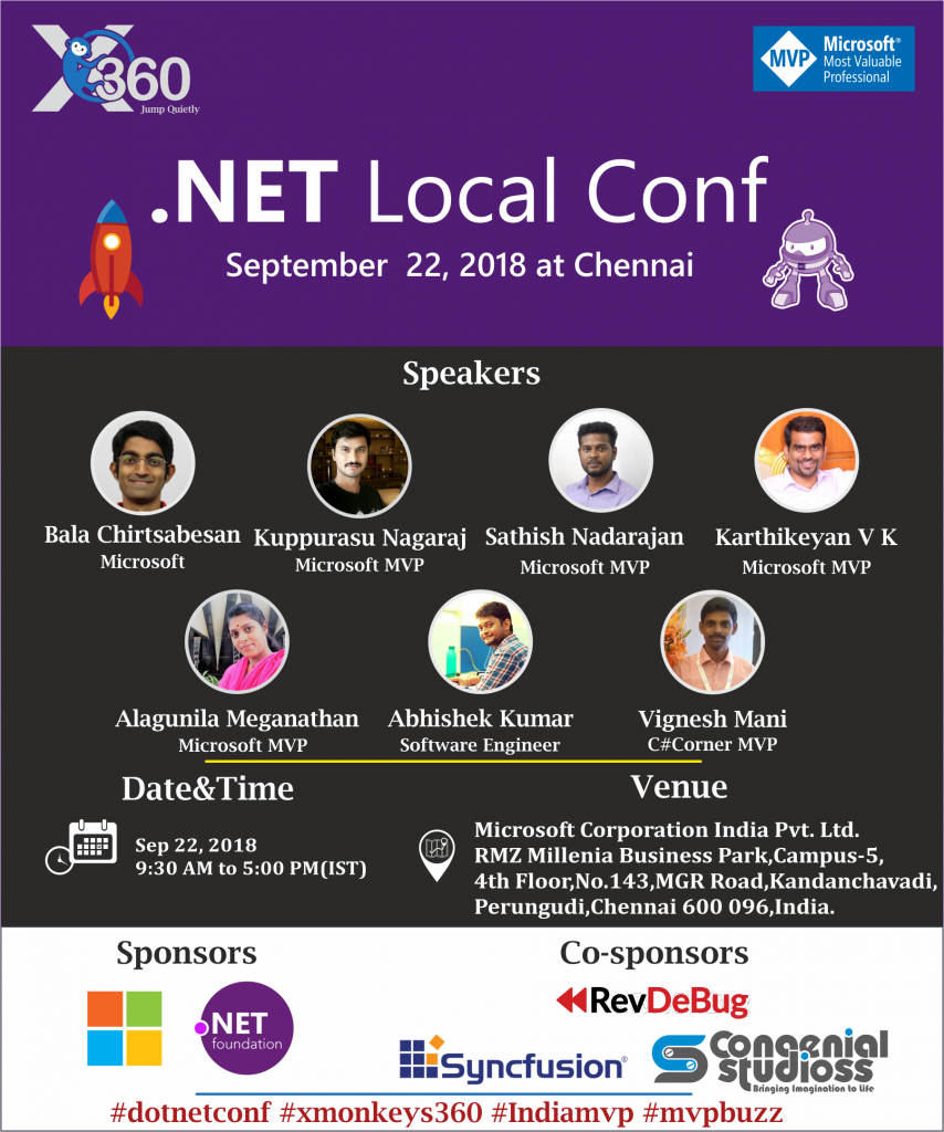 .NET Local Conf - 2018 at Chennai